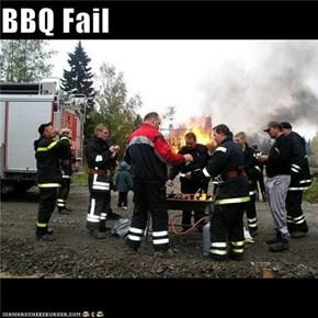 BBQ Fail