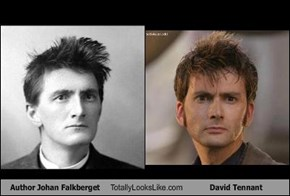 Author Johan Falkberget Totally Looks Like David Tennant