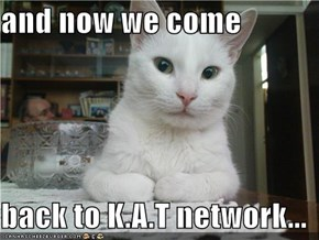 and now we come  back to K.A.T network...