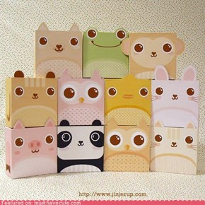 Jinjerup's Cute Animal Giftboxes