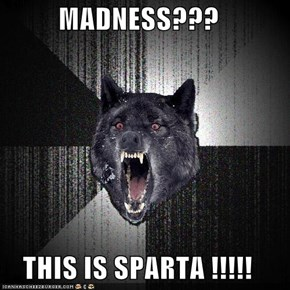 MADNESS???  THIS IS SPARTA !!!!!