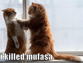 i killed mufasa
