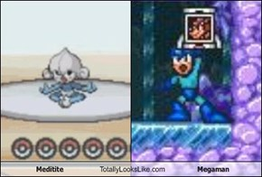 Meditite Totally Looks Like Megaman