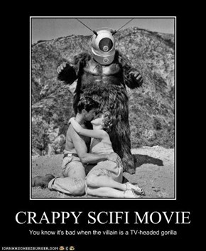 CRAPPY SCIFI MOVIE