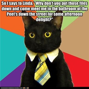 Business Kitty: Sexual Harrassment Suit