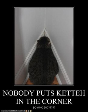 NOBODY PUTS KETTEH IN THE CORNER