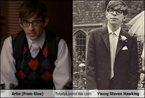 Artie (From Glee) Totally Looks Like Young Steven Hawking