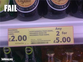 Tesco Price Fail