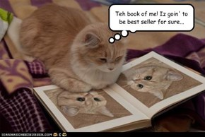 Teh book of me! Iz goin' to be best seller for sure...