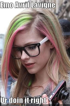 Emo Avril Lavigne  Ur doin it right
