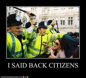 I SAID BACK CITIZENS