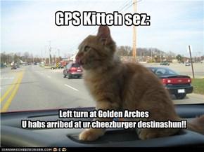GPS Kitteh sez: