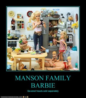 MANSON FAMILY BARBIE
