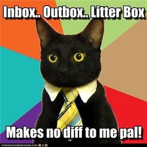 Business Kitteh: File it YOURSELF!