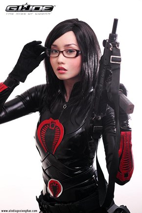 Amazing Baroness Cosplay
