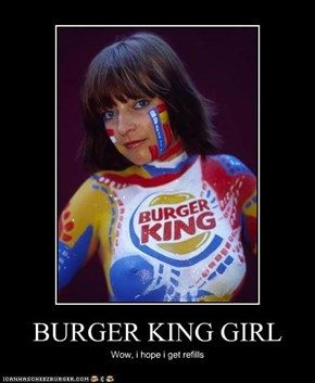BURGER KING GIRL