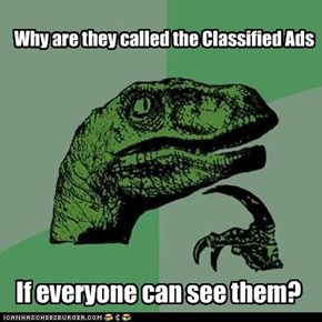 Philosoraptor: Classified
