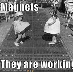 Magnets  They are working!!!