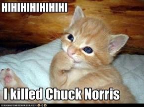 Chuck Norris not unbeatable