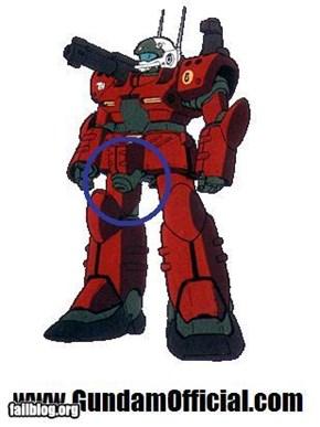 Gundam Character FAIL