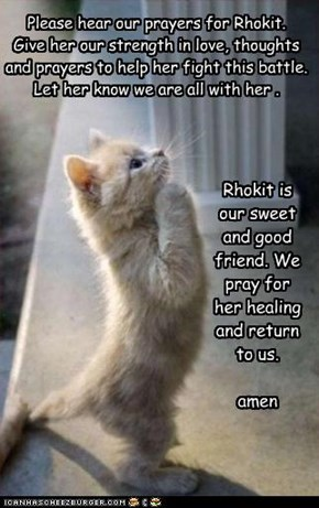 prayer for rhokit