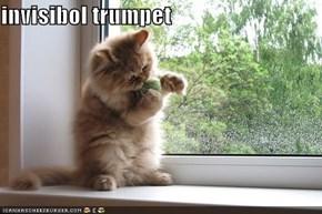invisibol trumpet