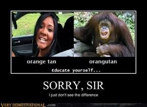 SORRY, SIR