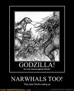 NARWHALS TOO!