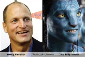 Woody Harrelson Totally Looks Like Jake Sully's Avatar