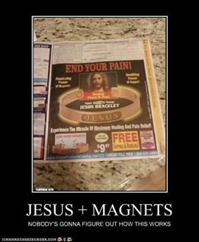 JESUS + MAGNETS