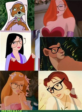 Even More Hipster Disney Girls