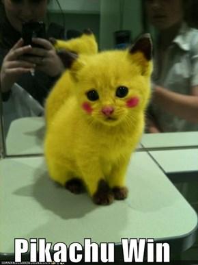 Pikachu Win