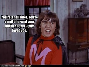 You told him Davy