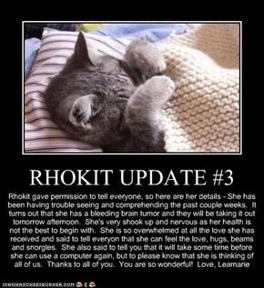 RHOKIT UPDATE #3