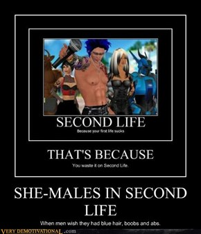 SHE-MALES IN SECOND LIFE