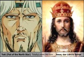 Toki (Fist of the North Star) Totally Looks Like Jesus, our Lord & Savior