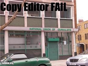 Copy Editor FAIL