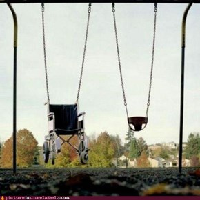 Differently Abled Swing Set