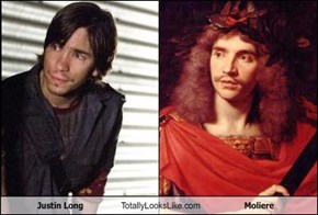 Justin Long Totally Looks Like Molière