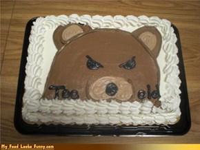 Pedo Bear Cake