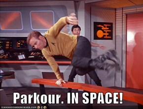 Parkour...IN SPACE!