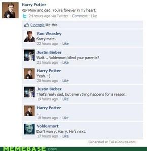 Bieber's Totally a Hufflepuff