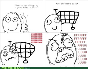 Shopping Cart Rage