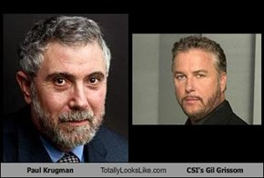 Paul Krugman Totally Looks Like CSI's Gil Grissom