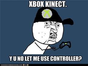 XBOX KINECT.