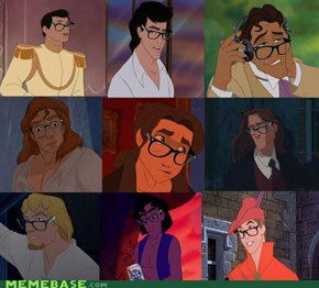 And Now... Disney Hipster Dudes!