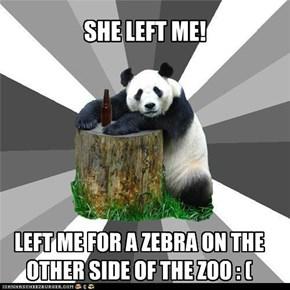 SHE LEFT ME!
