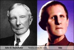 John D. Rockefeller Totally Looks Like Odo