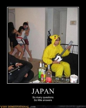 Seriously Japan, WTF?