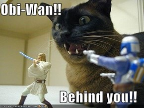Obi-Wan!!   Behind you!!